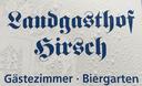 Logo von Landgasthof Hirsch
