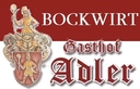 Logo von Gasthaus Adler - Bockwirt