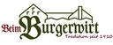 Logo von Beim Burgerwirt