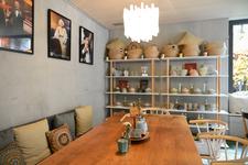 gemütlich sitzen und genießen im  Cafe bene in Sonthofen