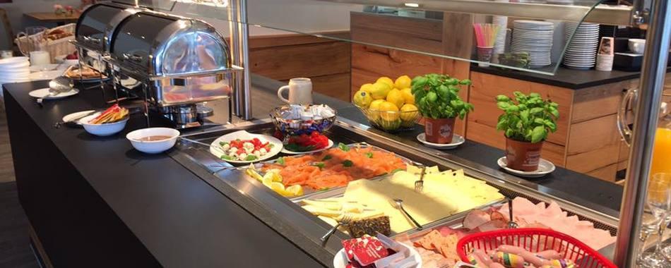 Bäckerei Hausmann - das Frühstücksbuffet