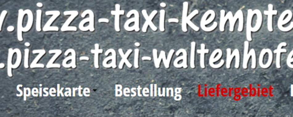 Pizza-Taxi Waltenhofen