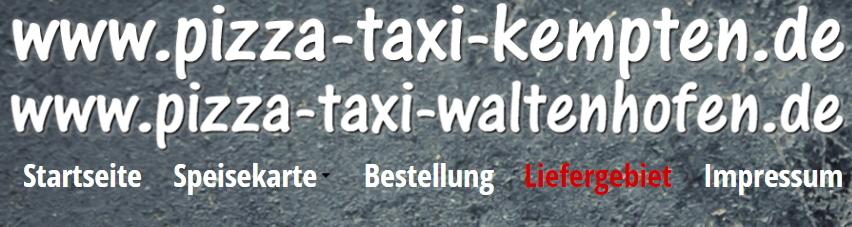 pizza taxi waltenhofen kempten waltenhofen wochenkarte kochen lassen. Black Bedroom Furniture Sets. Home Design Ideas