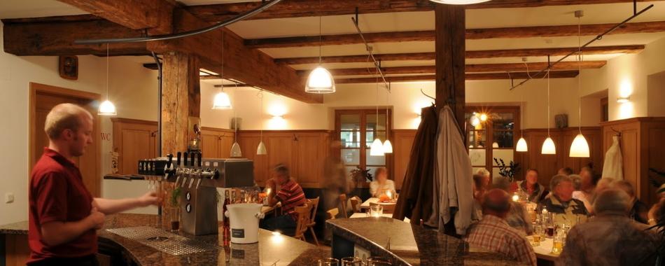 Mittagessen in der Weinstube zum Hasen in Bad Waldsee