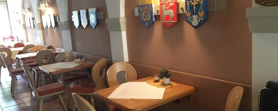 Ristorante  - Pizzeria Da Marco Mindelheim - gemütlich sitzen und genießen - nicht nur zum Mittagstisch