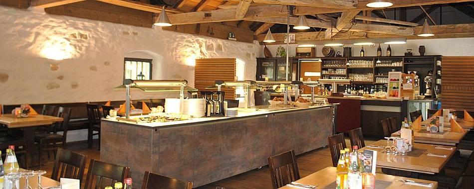 Mittagessen kann man auch gut und lecker in der Klostergaststätte im Kloster Heiligkreuztal