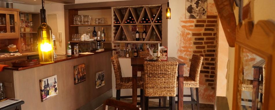 kommen - essen - feiern - oder Sie genießen Ihre Mittagspause in der Osteria la Vigna in Isny bei mediterranen Spezialitäten