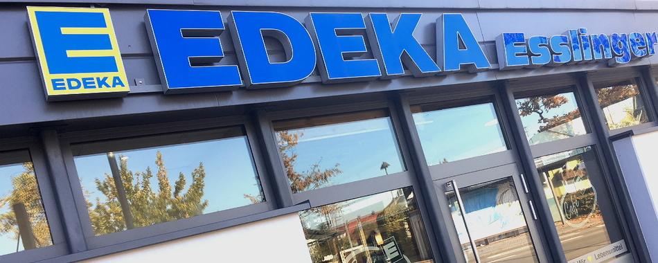 Einkaufen und genießen - morgens - mittags - im Edeka Schlemmermarkt Esslinger in Langenargen
