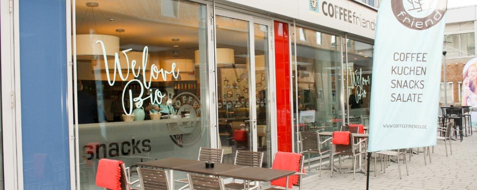 Coffee Friends am Klinikum in Kempten - Coffee - Kuchen - Snacks - Salate - wechselnde Mittagstischangebote