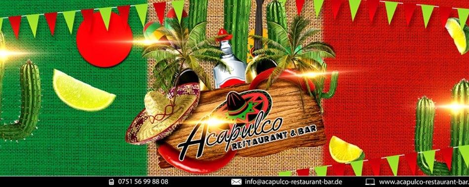 Essen gehen ins Acapulco in Weingarten. Alle Restaurants, Wochenmenüs und Tagesmenüs. Das Restaurant & Bar Acapulco in Weingarten bietet Ihnen eine vielfältige Auswahl an wechselnden Mittagessen und Mittagsgerichte