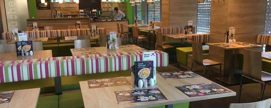 Essen gehen in Kempten im mömax Restaurant. Alle Restaurants, Wochenmenüs und Tagesmenüs und Frühstückvariationen. Das mömax Restaurant in Kempten bietet Ihnen eine vielfältige Auswahl an wechselnden Mittagessen und Mittagsgerichten