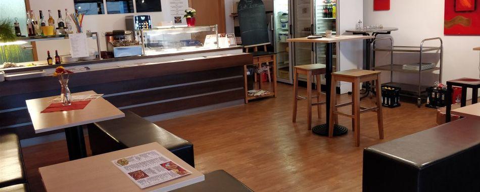 Gemütlich sitzen und genießen. Im Bulls Burger Restaurant in Weingarten - Mit wechselndem Mittagstisch und vielen weiteren Angeboten. Gerne alles auch zum Mitnehmen