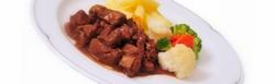 Mittags gut und lecker Essen genießen- in der Metzgerei Frick in Sigmaringen - Hier gibt es von Montag bis Freitag täglich wechselnde Mittagsgerichte
