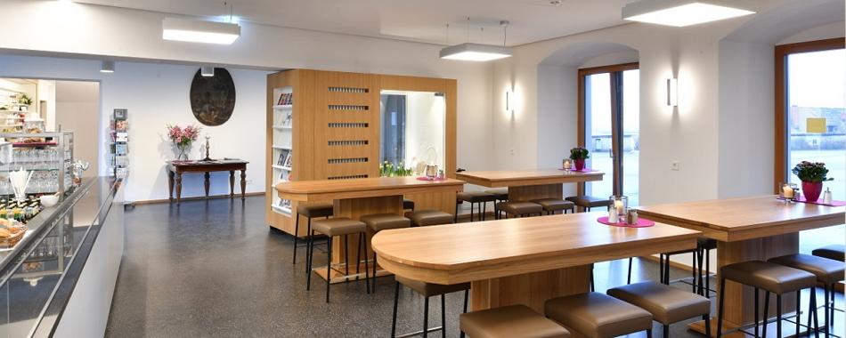 Mittags gut und lecker Essen gehen in und um Ravensburg und Weingarten - Ob Restaurant, Gasthaus, Imbiss, Café - in Weingarten gibt es viele Lokale mit wechselnden Mittagsangeboten wie im Martinus Klostercafe
