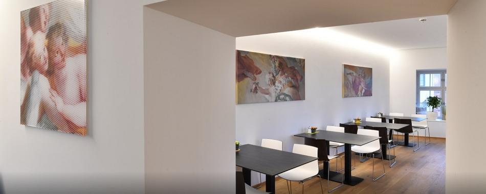Ob Restaurant, Gasthaus, Imbiss, Café - in Weingarten gibt es viele Lokale mit wechselnden Mittagsangeboten wie im Martinus Klostercafe, Mittags gut und lecker Essen gehen in und um Ravensburg und Weingarten