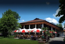 mittags ins Cafe Restaurant Kurhaus am Park in Isny.  Mittags gut und lecker Essen gehen in Isny - Ob Restaurant, Café, Bar, Imbiss oder Gasthaus - in Isny gibt es viele Lokale mit wechselnden Mittagstisch-Angeboten