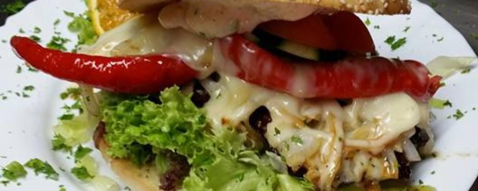 mittags einen Burger in Lindenberg - im V8 American Dream - Alle Restaurants, Café, Bar, Imbisse, Gasthäuser in Lindenberg - Burger - Pizza - Lieferservice