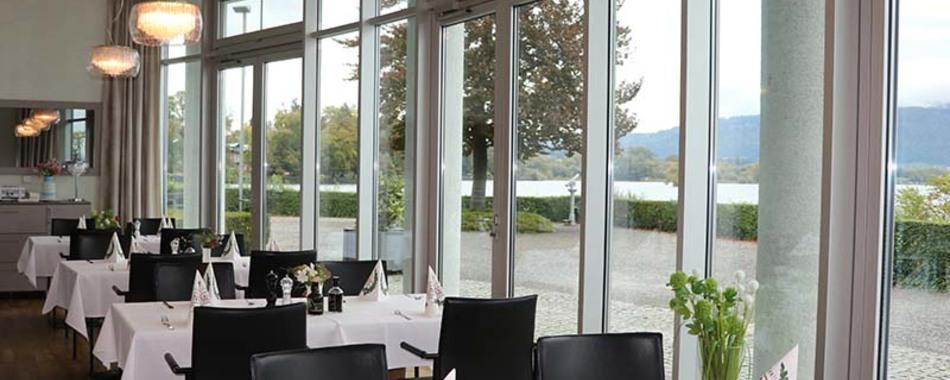 Mittags und abends gut und lecker Essen gehen im Cantinetta al Lago in Lindau, direkt am See - Alle Restaurants, Café, Bar, Imbisse in Lindau und der Bodenseeregion mit wechselnden Mittagsangeboten