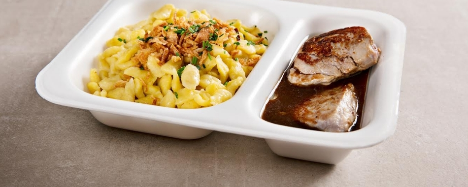 täglich gibt es bei der Fleischmanufaktur Maischberger in Buchloe wechselnde Mittagsangebote. Mittagstisch, Aboessen, Stammessen - das ist für Jeden was dabei