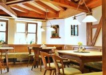 Aboessen und Mittagstisch im Gasthof Adler in Sonthofen - gerne auch auf der Terrasse -