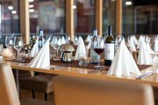 jeden Tag wechselnde Mittagsgerichte auf dem Eiszeit - All You Can Eat Mittagsbuffet - auch Vegetarisches steht auf der Speisekarte im Restauran Eiszeit in Ravensburg