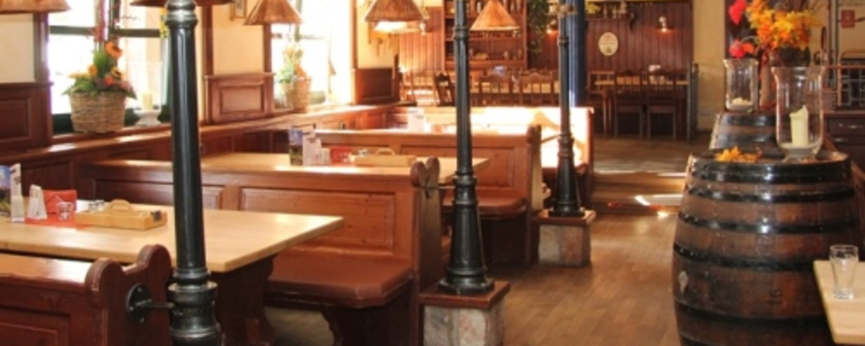Mittags kann man gut, lecker und gesund Essen gehen im Meckatzer Bräu Engel in Kempten - Alle Restaurants, Café, Bar, Imbisse in und um Kempten mit wechselnden Mittagsangeboten und reichhaltiger Speisekarte