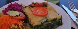 Mittags kann man vegan, organisch, vegetarisch Essen gehen ins bio bistro v2o in Friedrichshafen - Alle Restaurants, Café, Bar, Imbisse in und um Immenstadt mit wechselnden Mittagsangeboten und reichhaltiger Speisekarte