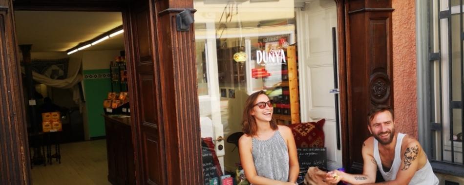 in Ihrer Mittagspause - Dunya in Wangen - täglich wechselnde Mittagsangebote - orientalische Spezialitäten