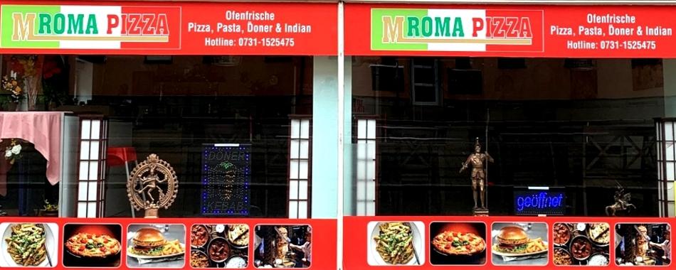 In der Mittagspause ins M Roma Pizza in Ulm  - Alle Restaurants, Café, Bar, Imbisse in und um Ulm herum mit wechselnden Mittagsangeboten und reichhaltiger Speisekarte