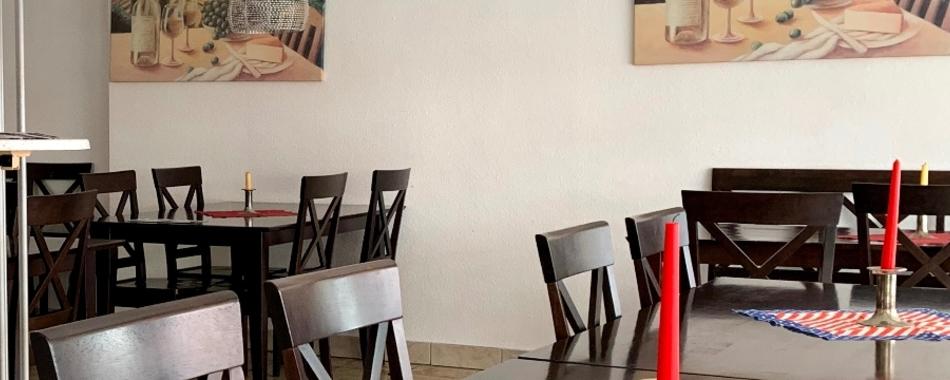Gemütlich sitzen und genießen. Essen mit Kollegen,  Freunden und Familie - im M Roma Pizza in Ulm  - nicht nur Lieferservice! Mittagstisch - Tagesgerichte gibt es im Lokal