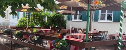 Gemütlich sitzen und genießen. Essen gehen mit Freunden, Kollegen und Familie - im Gasthaus Ritter in Wiedergeltingen - Mittagstisch - Tagesgerichte - Feiern - Mittagessen