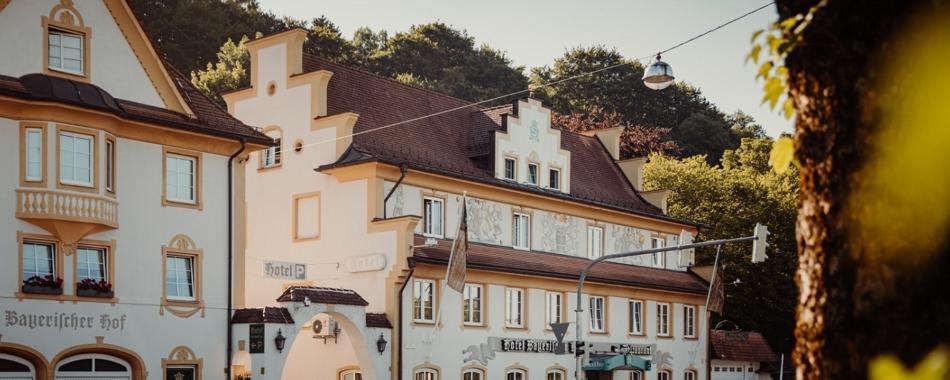 in Ihrer Mittagspause - traditionelle Küche im Hotel Restaurant Bayerischer Hof in Kempten im Allgäu Essen gehen - jede Woche neue Mittagsangebote - feine Küche - Tagesgerichte - Wochenkarte