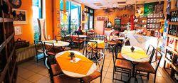 Genießer in Penzberg - Gemütlich sitzen und genießen. Essen gehen mit Freunden, Kollegen und Familie - im der Rathauspassage in Penzberg - Mittagstisch - Tagesgerichte - Feiern - Mittagessen -