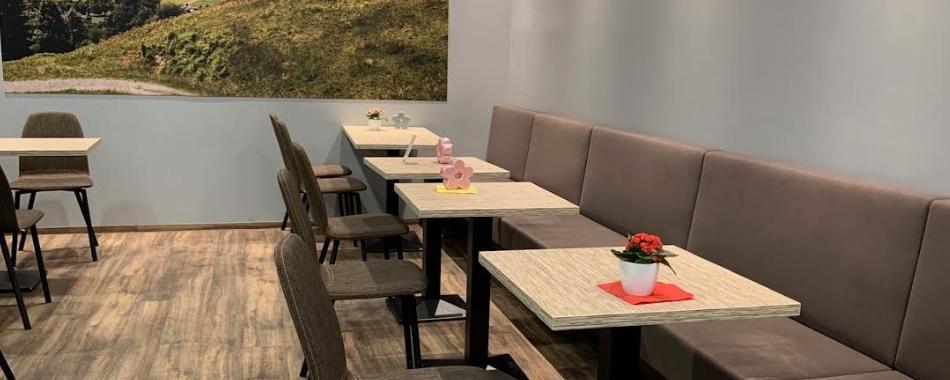 mittags gemütlich sitzen und genießen. Essen gehen mit Freunden, Kollegen und Familie - im Brothaus & Café in Immmenstadt - Mittagstisch - Tagesgerichte - Mittagessen -