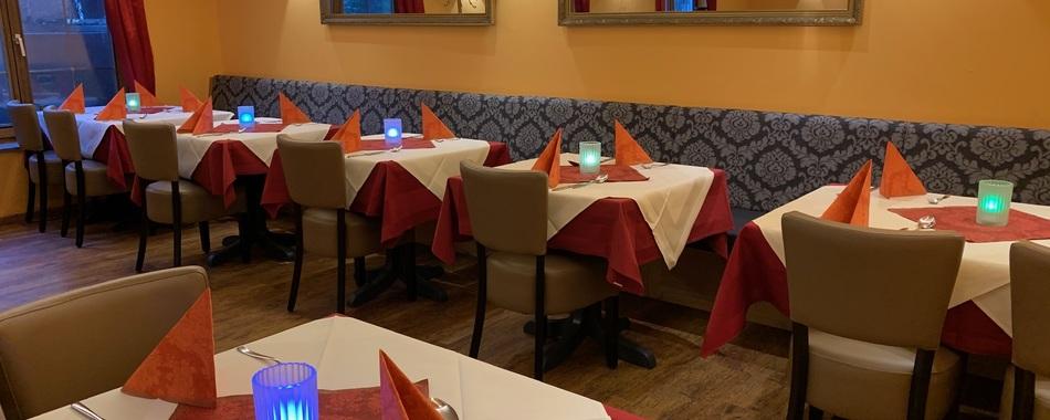 Indische Spezialitäten Weine - täglich wechselnder Mittagstisch und Mittagsangebote - Tagesessen, Aboessen, Stammessen - im Restaurant Rani Mahal in Kempten