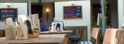 Café - Schlossgarten in Türkheim - gemütlich sitzen und genießen - alle Restaurants, Imbisse, Hotels, Lokale mit wechselndem Tagesessen oder Aboessen