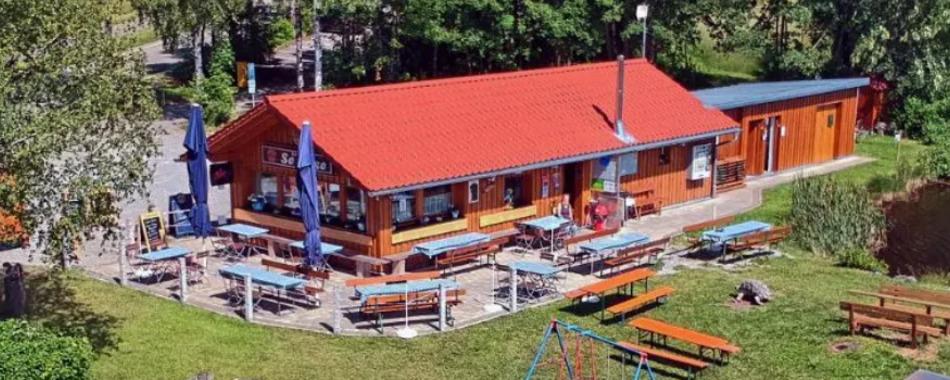 Seerose - am Forggensee - Halblech - gemütliche Einkehr - mittags - abends - Gockel