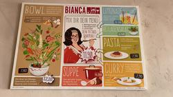 Gemütlich sitzen und genießen. Im Bianca in Kempten - Mit einer Auswahl an leckeren Mittagsgerichten. Alle Restaurants, Imbisse, Gasthäuser, Kantinen in Kempten an der Iller
