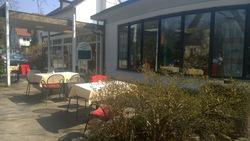 Cafe Wölfle Terrasse