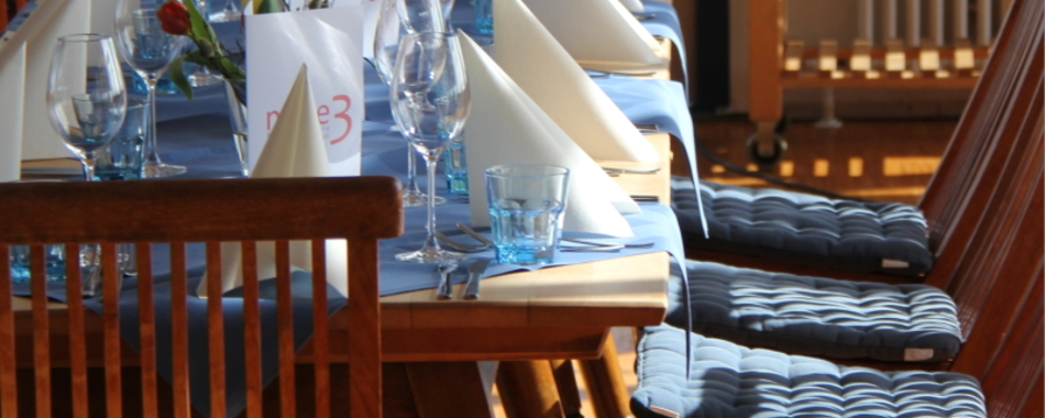 Mole 3 Lindau Mittagstisch am Hafen toll