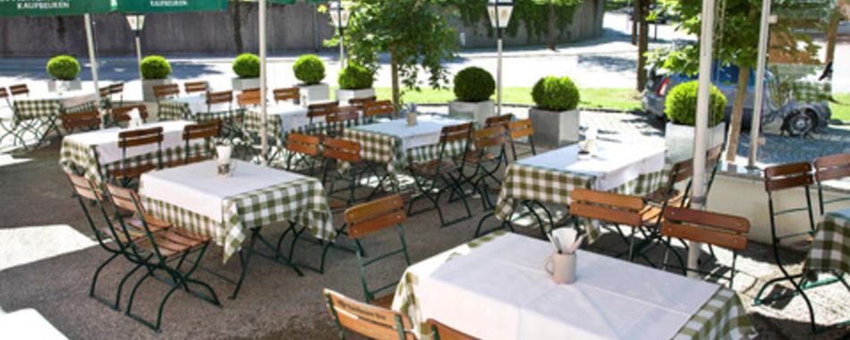 Gasthof Eichel - Mittagsangebote und Mittagstisch gerne auch im Biergarten