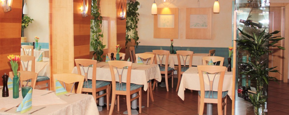 Gemütlich sitzen und genießen und gut essen kann man im Stadion-Restaurant in Marktoberdorf. Essen mit Freunden, Kollegen und Familie - Mittagsessen - Abendessen in MOD