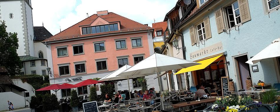 Saumarkt Cafe - Terrasse - Mittagstisch