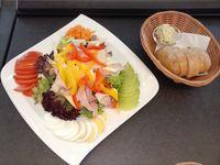 guten Appetit im Cafe Zendler beim Mittagstisch