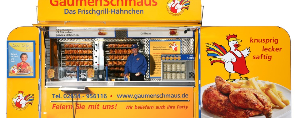 Gaumenschmaus Grillmobil - Guten Appetit